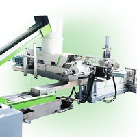 Plastic film/bag granulator machine
