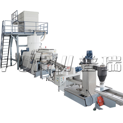 PET BOTTLE FLAKES PELLETIZING LINE