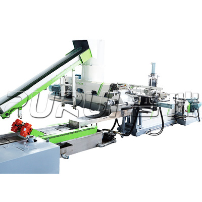 PLASTIC FILM BAG GRANULATOR MACHINE
