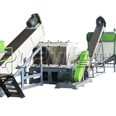RIGID PLASTIC RECYCLING CRUSHING WASHING LINE