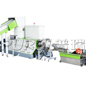 SINGLE SCREW EXTRUDER SINGLE STAGE PLASTIC GRANULATOR