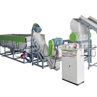 WASTE FILM CRUSHING AND WASHING MACHINE