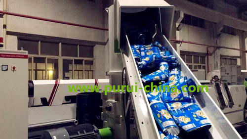 pe pet film granulator machine