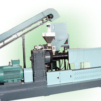 Forced feeding pelletizing line